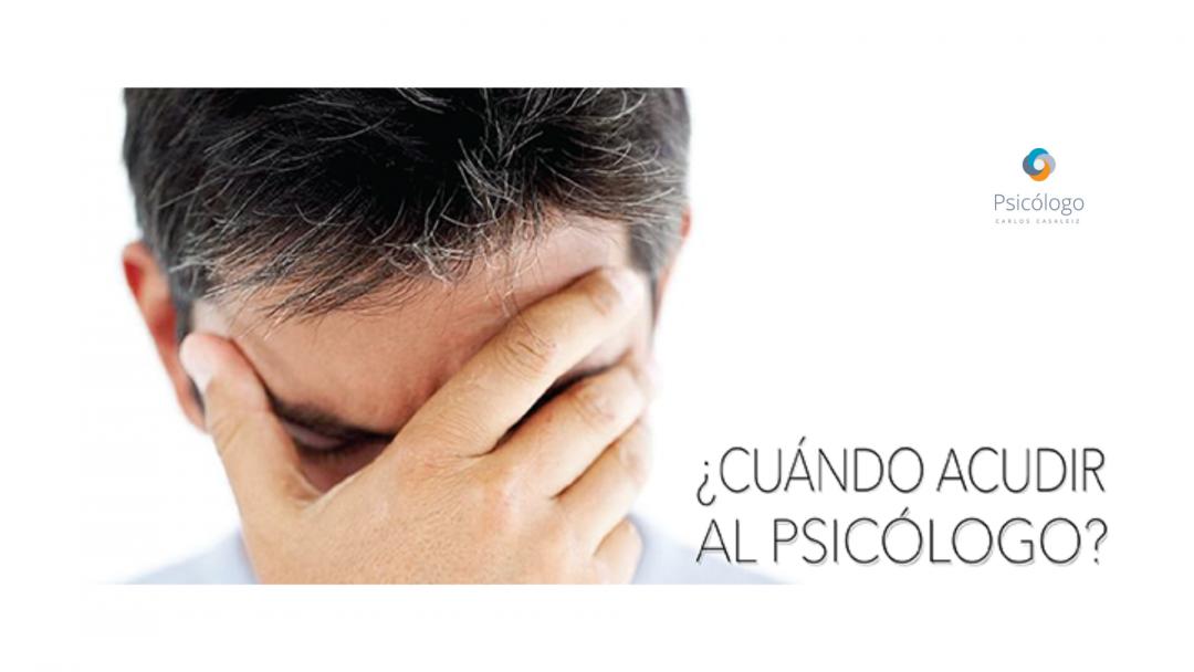 ¿Cuándo ir al psicólogo o psicoterapeuta?