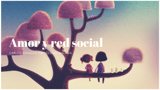 Amor y red social.