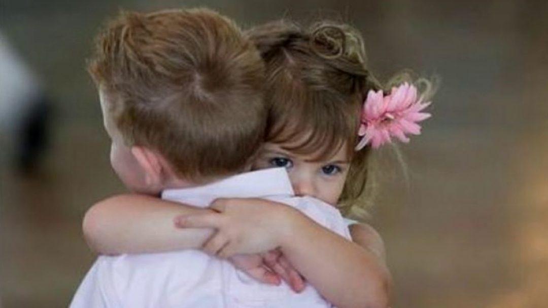 Abrazame ahora.