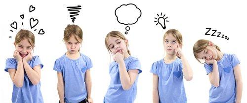 Las emociones de los niños(as).